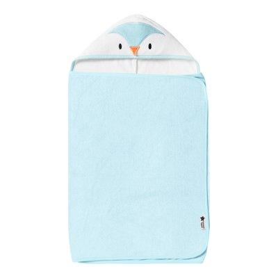 Tommee Tippee Splashtime Hug & Dry Towel - Percy the Penguin - Default