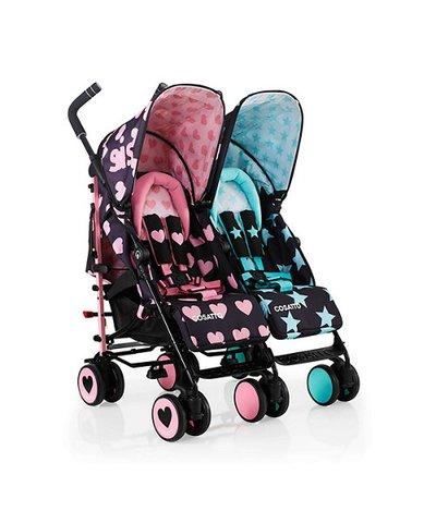 Cosatto Supa Dupa Twin Stroller - Sis & Bro