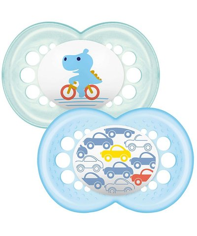 Mam Original Soother 12m+ - Blue