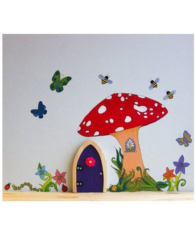 Irish Fairy Tree Toadstool Decal Pack
