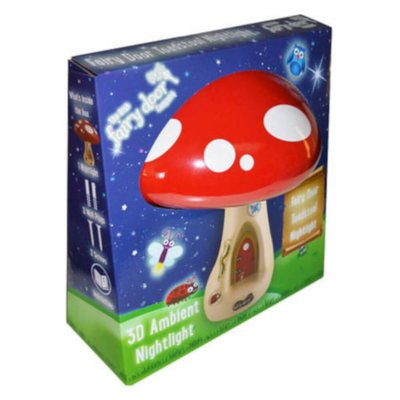 fairy toadstool 3D light