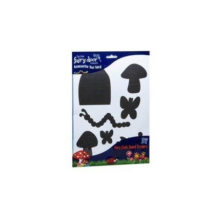fairy door - chalk board stickers