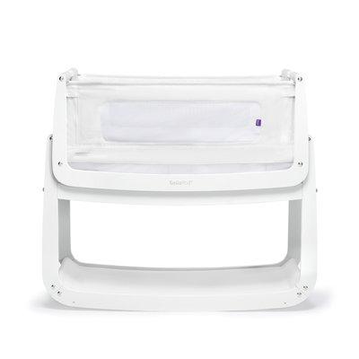 SnuzPod 4 Bedside Crib - White