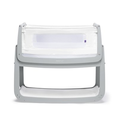 SnuzPod 4 Bedside Crib - Dove Grey - Default