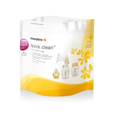 Medela Quick-Clean Micro-Steam Bag- 5 Pack