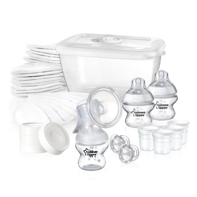 Tommee Tippee Closer to Nature Breast Feeding Kit - Default