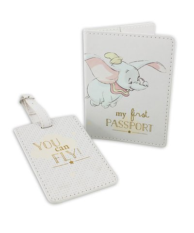Disney Magical Beginnings Dumbo Passport Holder and Luggage Tag