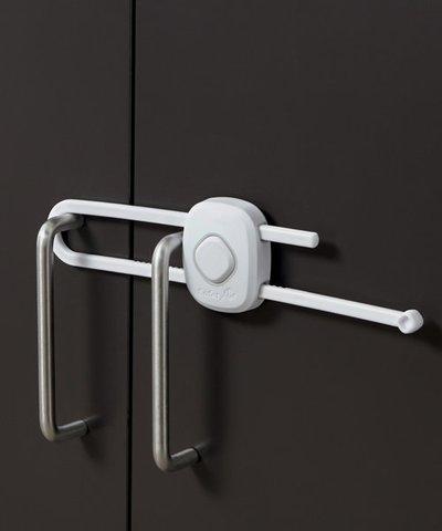 Safety First Secret Button Slide Lock