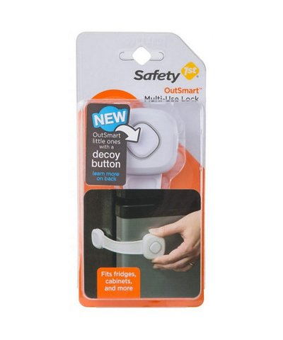 Safety First Secret Button Multi use Lock
