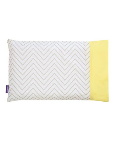 Clevamama Toddler Pillow Case - Grey