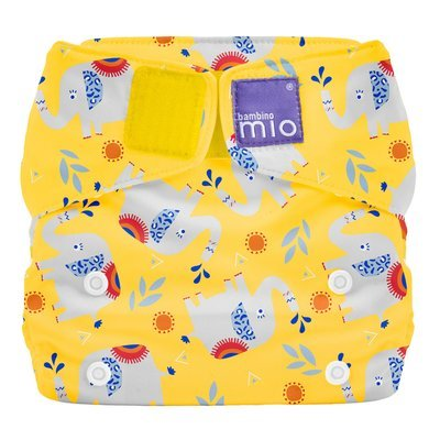 Bambino Mio Miosolo Reusable Nappy - Elephant Stomp