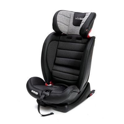 InfaSafe Event FX Group 1-2-3 Car Seat - Black Leatherette
