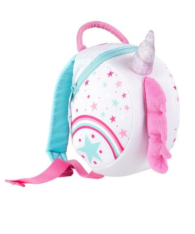 LittleLife Toddler Backpack with Rein - Unicorn