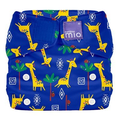 Bambino Mio Miosolo Reusable Nappy - Giraffe Jamboree - Default