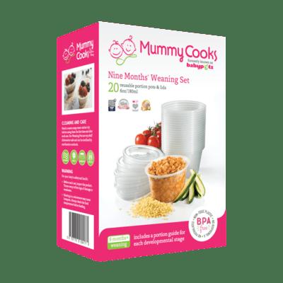 Mummy Cooks 9m+ Weaning Set