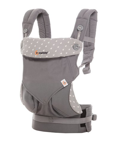 Ergobaby 360 Baby Carrier - Dewy Grey