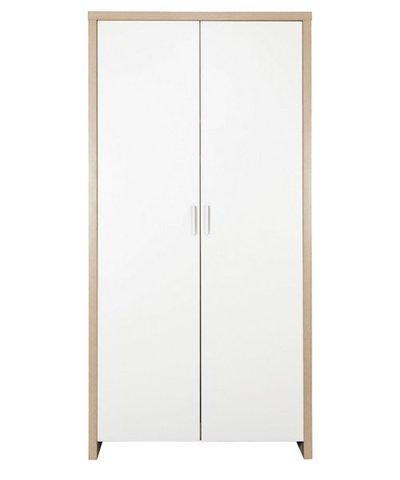 Tutti Bambini Modena Wardrobe - White / Oak