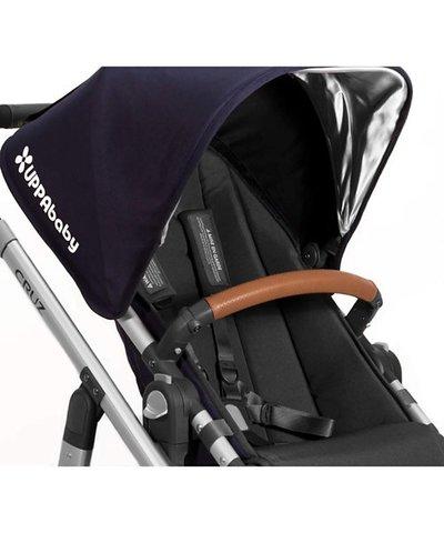 Uppababy Vista/Cruz Leather Bumper Bar Cover - Saddle