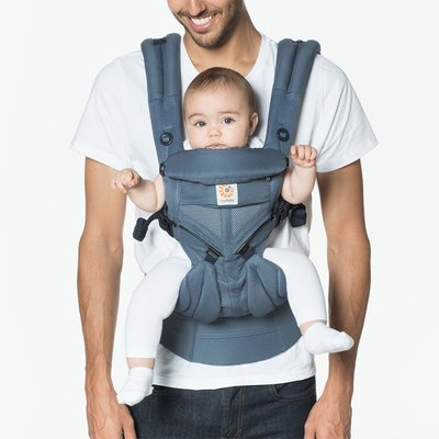 Ergobaby Omni 360 Baby Carrier Cool Air Mesh - Oxford Blue