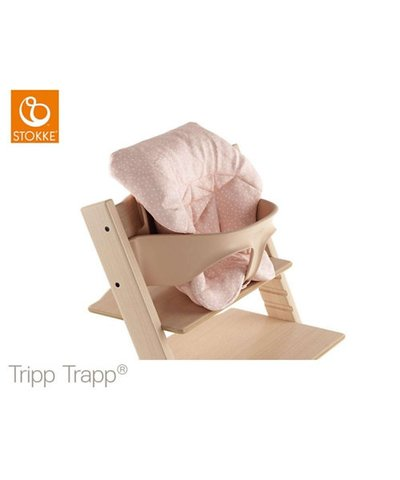 Stokke Tripp Trappini Baby Cushion - Pink Bee