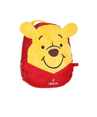 LittleLife Winnie the Pooh Toddler Backpack with Rein