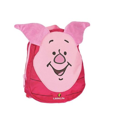 LittleLife Piglet Toddler Backpack with Rein