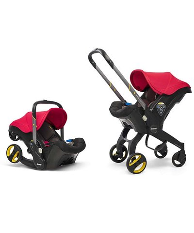Doona Infant Car Seat/Stroller - Flame Red