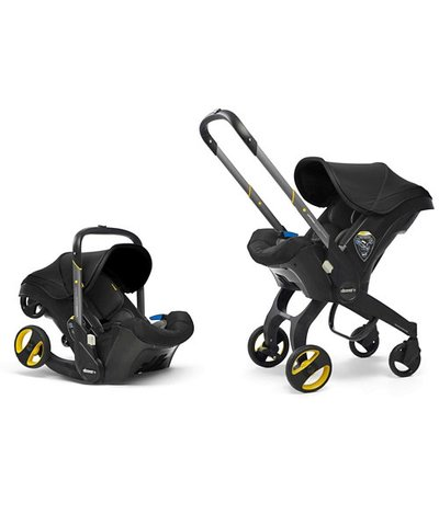 Doona Infant Car Seat/Stroller - Nitro Black