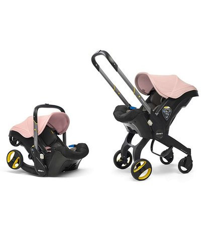 Doona Infant Car Seat/Stroller - Blush Pink