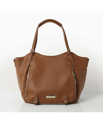 Bow & Rattle Joy Changing Bag - Tan