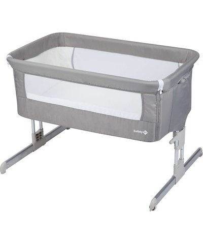 Safety 1st Calidoo Co-Sleeping Crib - Warm Grey