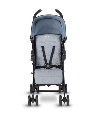 Silver Cross Zest Stroller - Powder Blue