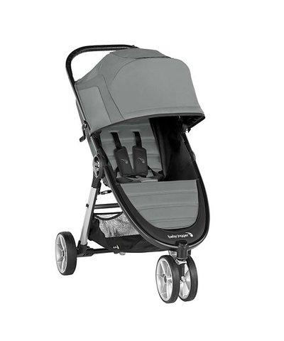 Baby Jogger City Mini 2 Stroller 3 Wheel - Slate
