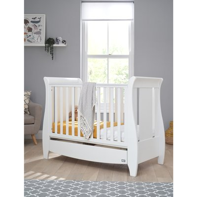 Tutti Bambini Katie Cot Bed 120x60 - Cool Grey