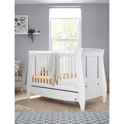 Tutti Bambini Lucas Cot Bed - White