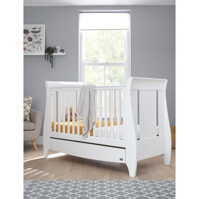 Tutti Bambini Lucas Cot Bed - White - Default