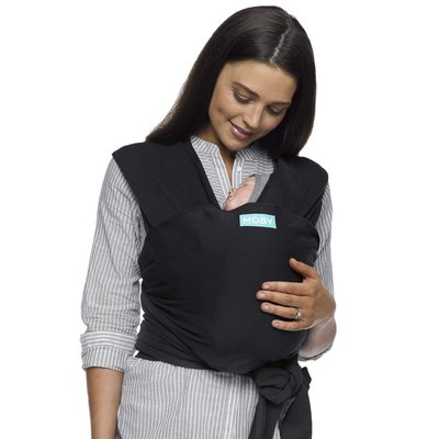 Moby Classic Wrap Carrier - Black