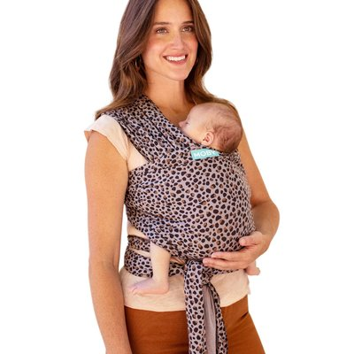 Moby Classic Wrap Carrier - Leopard