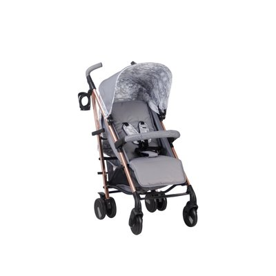My Babiie Stroller - Grey Marble/Rose Gold