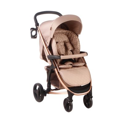 My Babiie Pushchair - Mocha Monogram - Default