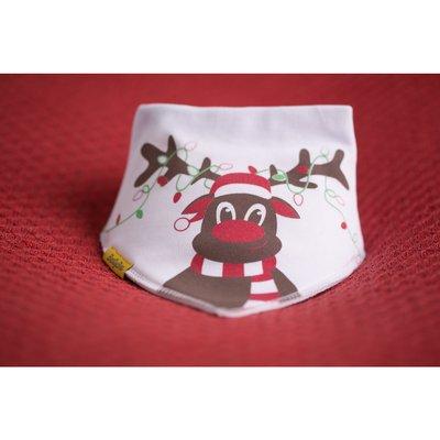 BabyBoo Rudy Reindeer Organic Cotton Bandana Bib