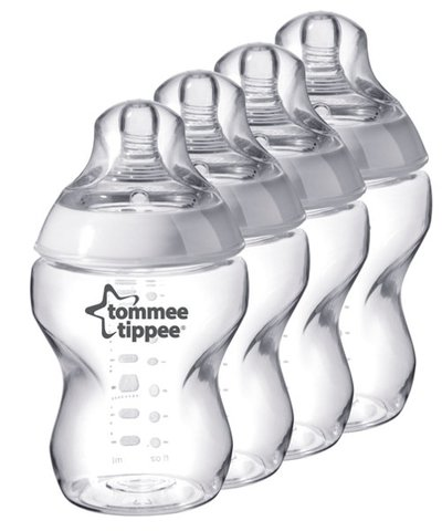 Tommee Tippee Closer to Nature Easivent 260ml Bottles - 4 Pack