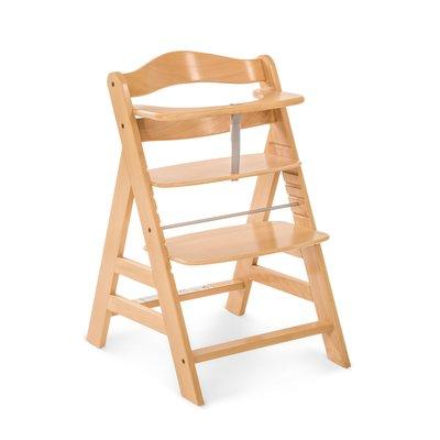 Hauck Alpha+ Wooden Highchair - Natural