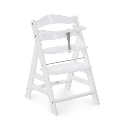Hauck Alpha+ Wooden Highchair - White (6mths+)