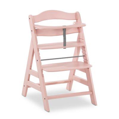 Hauck Alpha+ Wooden Highchair  - Rose