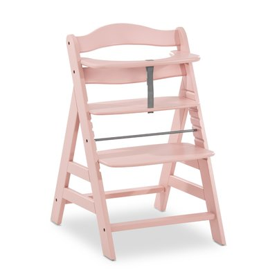 Hauck Alpha+ Wooden Highchair  - Rose (6mths+)