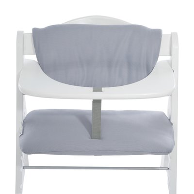 Hauck Alpha Highchair Pad Deluxe - Stretch Grey