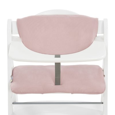 Hauck Alpha Highchair Pad Deluxe - Stretch Rose