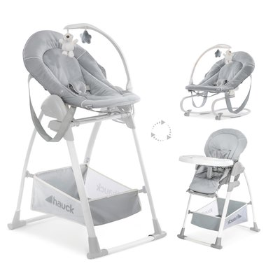 Hauck Sit N Relax 3 in 1 - Stretch Grey