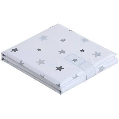 Baby Elegance Folding Changing Mat – Grey Stars